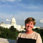 Cheryl Byrne on Capitol Hill