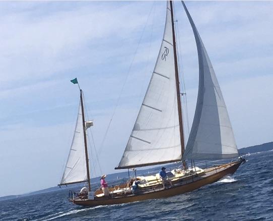 Irian Racing to Northeast Harbor