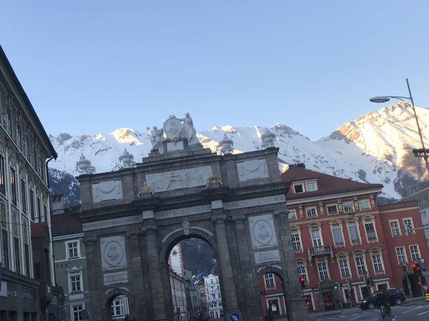 Triumphal Arch Innsbruck